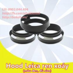Hood Leica màu đen phi 55mm