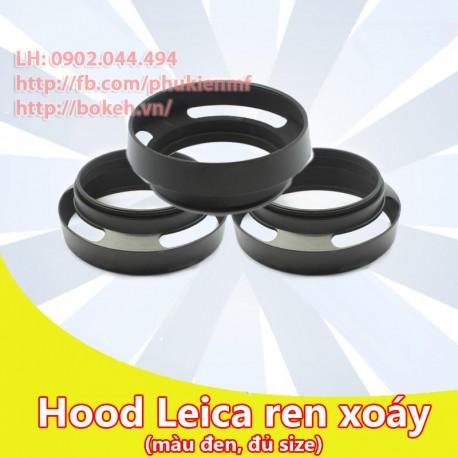 Hood Leica màu đen phi 49mm