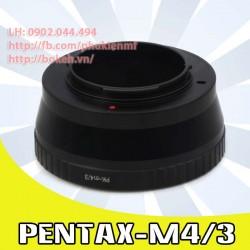 Pentax K - M4/3 ( PK-M4/3 )
