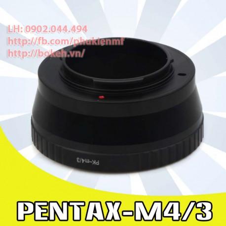 Pentax K - M4/3 (PK-M4/3)