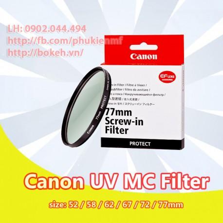 Filter Canon MC UV phi 52mm