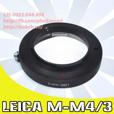 Leica M - M4/3 (LM-M4/3)