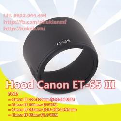 Hood Canon ET-65III