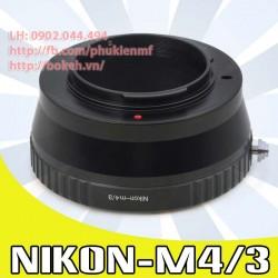 Nikon F/AI/AIS - M4/3 ( AI-M4/3 )
