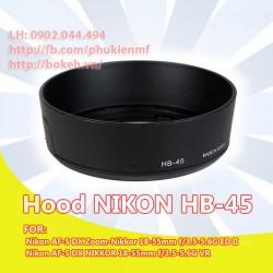 Hood Nikon HB-45 (tròn)