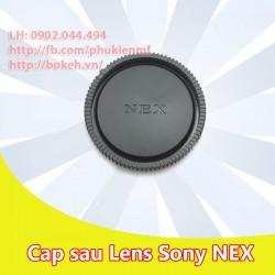Cap sau lens Sony NEX ( E mount )