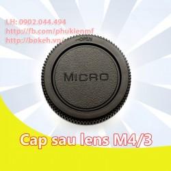 Cap sau lens M4/3