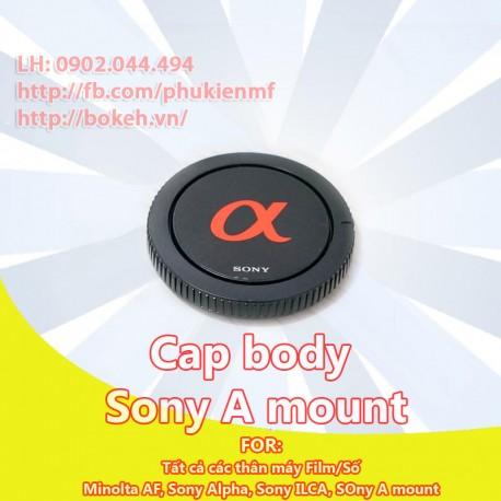 Cap Body SONY Alpha (A mount)
