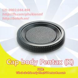Cap Body Pentax K