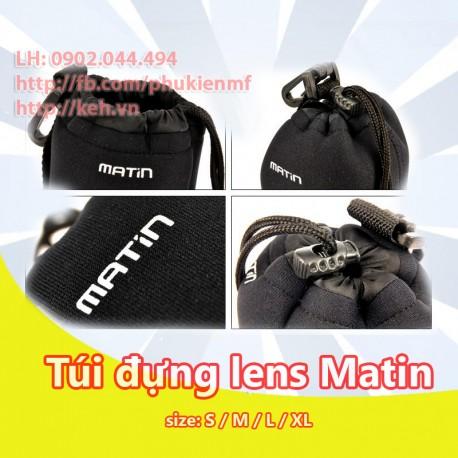 Túi đựng lens Matin (đủ size)