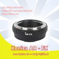 Konica AR - Fujifilm X ( AR-FX )
