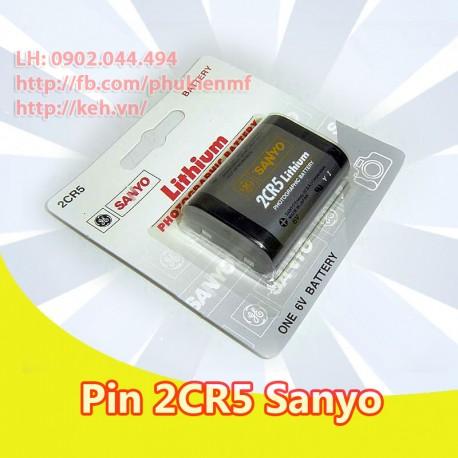 Pin Sanyo 2CR5 GES-LC2CR5 Lithium