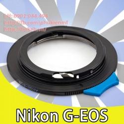 Mount Nikon F/AI/AI-S/AI-G - Canon EOS