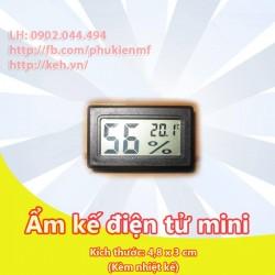 Ẩm kế điện tử Mini (kèm nhiệt kế điện tử)