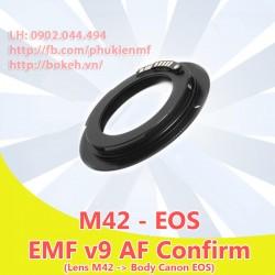 M42 - Canon EOS - Màu đen, EMF v9 ( M42-EOS-B9 )