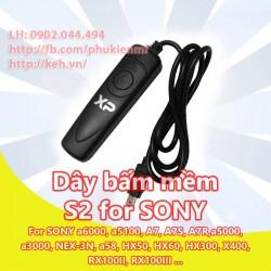 Dây bấm mềm S2 for Sony A7 A7s A7r A7ii A3000 A6000 A5000 NEX3 NEX5