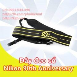 Neck Strap / Dây đeo cổ Nikon 90th Aniversary