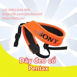 Neck Strap / Dây đeo cổ for Sony (màu cam)