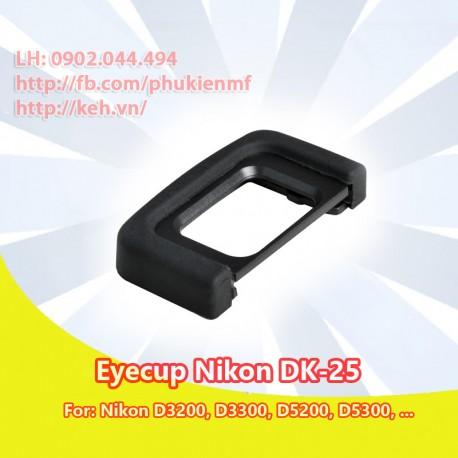 Eyecup Nikon DK-25 for Nikon D3200, D3300, D5200, D5300, D5500