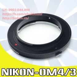 Nikon F/AI/AIS - 4/3 (AI-4/3)
