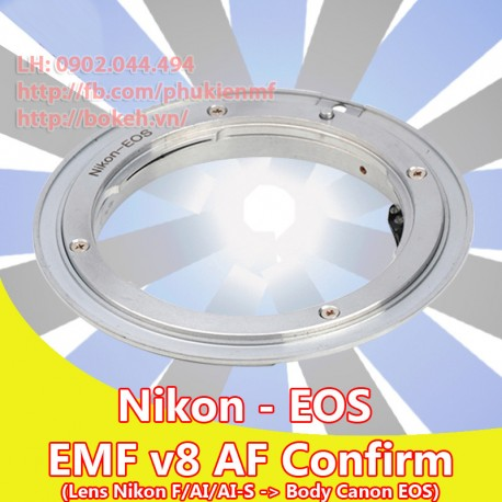 Nikon F/AI/AIS - Canon EOS - EMF v8 (AI-EOS-8)