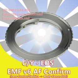 Contax/Yashica - Canon EOS - EMF v6 ( CY-EOS-6 )