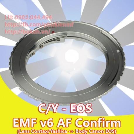 Contax/Yashica - Canon EOS - EMF v6 (CY-EOS-6)