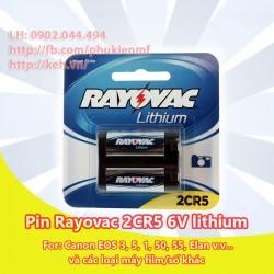 Pin Rayovac 2CR5 6V Lithium