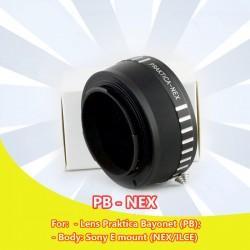 Mount Praktica Bayonet - Sony NEX (PB-NEX)
