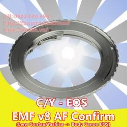 Contax/Yashica - Canon EOS - EMF v8 ( CY-EOS-8 )