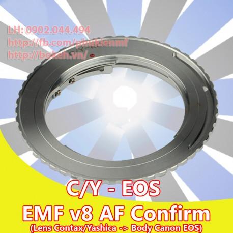 Contax/Yashica - Canon EOS - EMF v8 (CY-EOS-8)