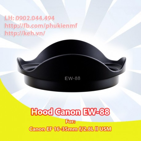 Hood EW-88 for Canon EF 16-35mm f/2.8L ll USM