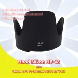 Hood HB-48 for Nikon AF-S 70-200mm f/2.8G ED VR II