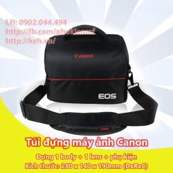 Túi máy ảnh chữ nhật Canon (1 body, 1-2 lens)