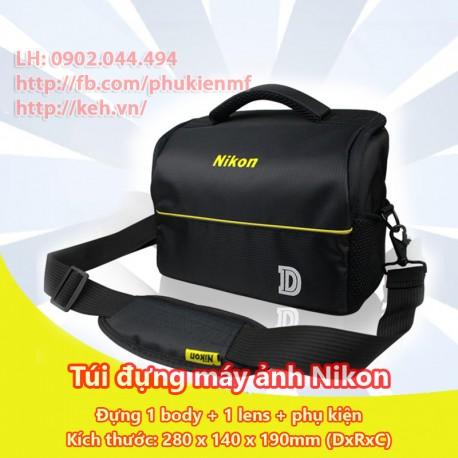 Túi máy ảnh chữ nhật Nikon (1 body, 1-2 lens)