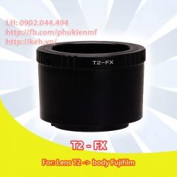 Mount T2 (M42x0.75) - Fujifilm X