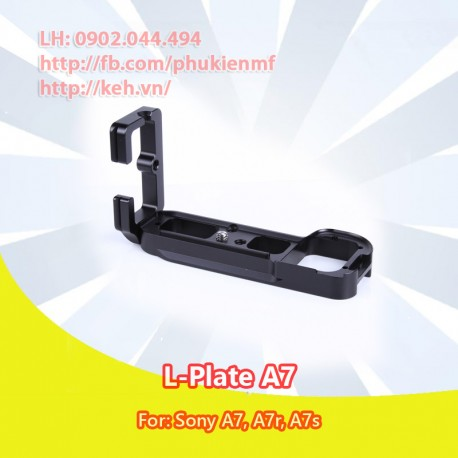 L-Plate Bracket Hand Grip for Sony A7, A7s, A7r