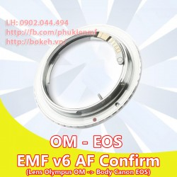 Olympus OM - Canon EOS - EMF v6 ( OM-EOS-6 )