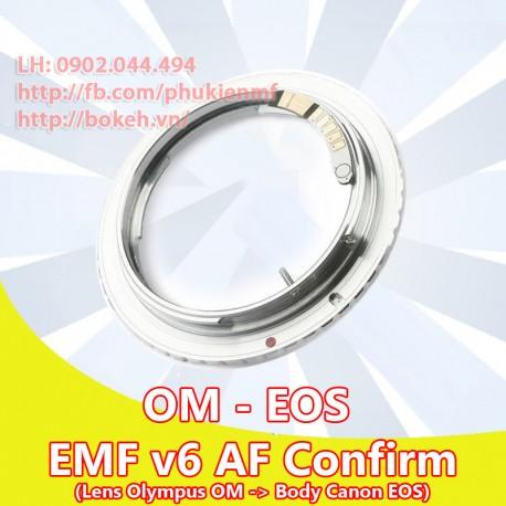 Olympus OM - Canon EOS - EMF v6 (OM-EOS-6)