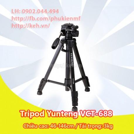 Chân máy ảnh Yunteng Tripod VCT-688 cho DSLR Camera