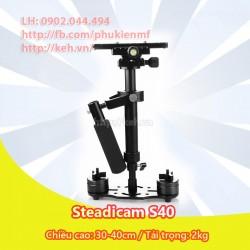 Tay cầm chống rung, ổn định máy quay phim - Steadicam S40