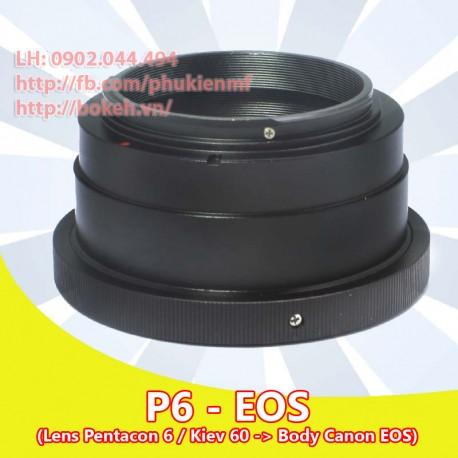 Pentacon Six - Canon EOS (P6-EOS)