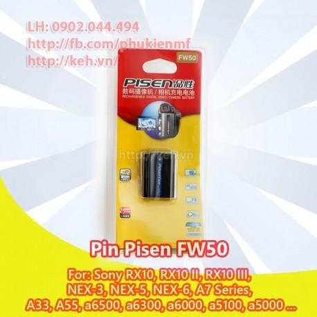 Pin Pisen FW5 for Sony Nex 3 NEX 5 Nex 6 NEX 7 A7 A6000 A5000 A7r A7 II