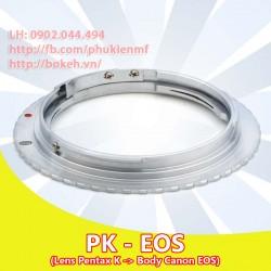 Pentax K - Canon EOS ( PK-EOS )