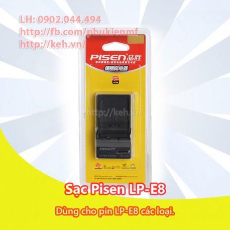 Sạc Pisen LP-E8 for Canon EOS 550D, 600D, 650D, 700D