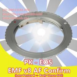 Pentax K - Canon EOS - EMF v8 ( PK-EOS-8 )
