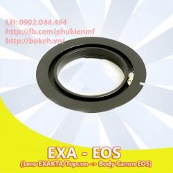 Exakta - Canon EOS ( EXA-EOS )