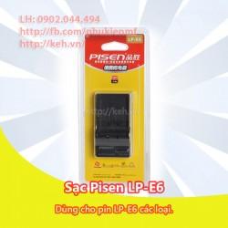 Sạc Pisen LP-E6 for Canon 5D II, 5D III, 60D, 70D, 7D.