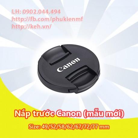 Cap trước Canon 49/52/58/62/67/72/77mm