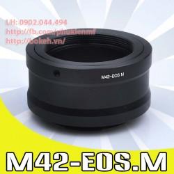M42 - Canon EOS-M (M42-EOSM)